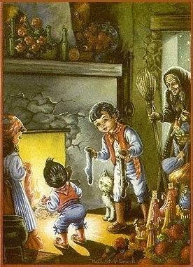 Risultati immagini per la calza della befana