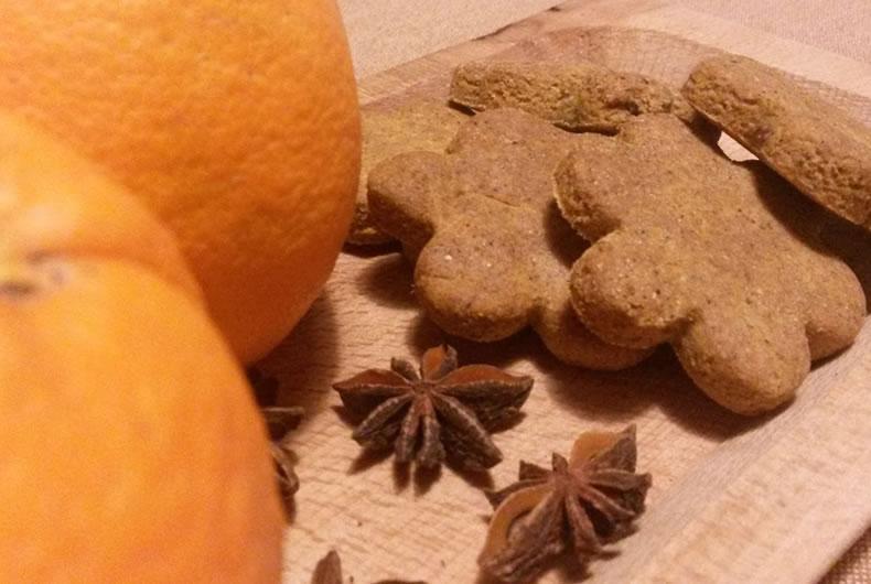biscotti gluten free anice e arancia