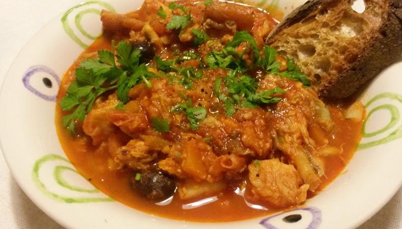 piatto zuppa di pesce