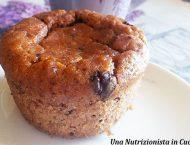 muffin con gocciole di cioccolato