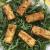crocchette di tofu su letto di rucola
