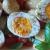 insalata patate e uova con basilico