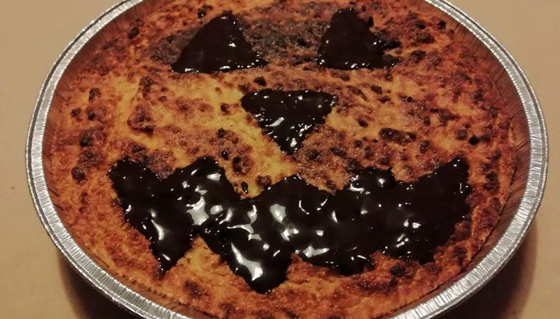 torta alla zucca per halloween