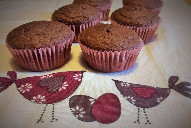 muffin senza glutine integrali
