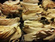 finocchi gratinati alla curcuma